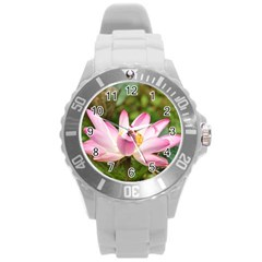 A Pink Lotus Plastic Sport Watch (Large)