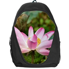 A Pink Lotus Backpack Bag