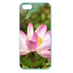 A Pink Lotus Apple Seamless iPhone 5 Case (Color)