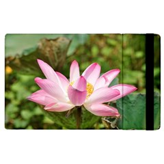 A Pink Lotus Apple Ipad 2 Flip Case