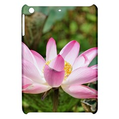 A Pink Lotus Apple iPad Mini Hardshell Case