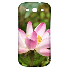 A Pink Lotus Samsung Galaxy S3 S Iii Classic Hardshell Back Case