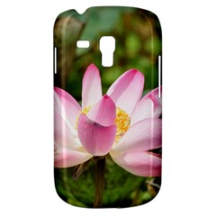 A Pink Lotus Samsung Galaxy S3 MINI I8190 Hardshell Case