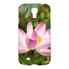 A Pink Lotus Samsung Galaxy S4 I9500 Hardshell Case