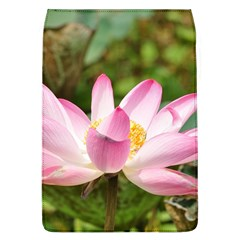 A Pink Lotus Removable Flap Cover (Large)
