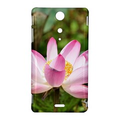 A Pink Lotus Sony Xperia TX Hardshell Case