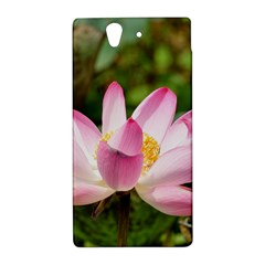 A Pink Lotus Sony Xperia Z L36H Hardshell Case