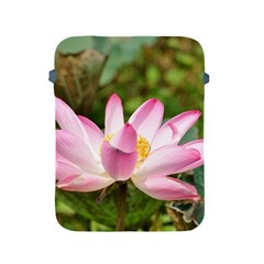 A Pink Lotus Apple iPad 2/3/4 Protective Soft Case