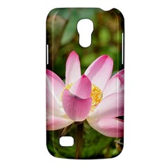 A Pink Lotus Samsung Galaxy S4 Mini Hardshell Case