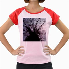 An Old Tree Women s Cap Sleeve T-Shirt (Colored)