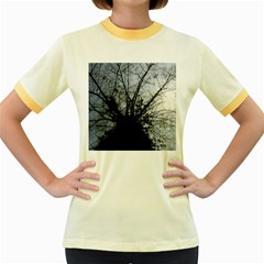 An Old Tree Womens  Ringer T-shirt (Colored)