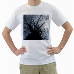 An Old Tree Mens  T Shirt (white)