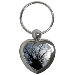 An Old Tree Key Chain (Heart)