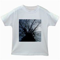 An Old Tree Kids' T Shirt (white)