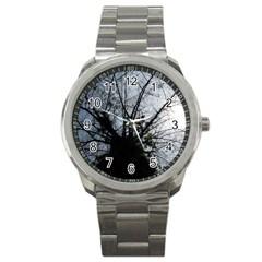 An Old Tree Sport Metal Watch