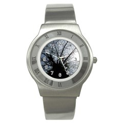 An Old Tree Stainless Steel Watch (Unisex)