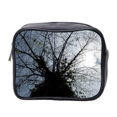 An Old Tree Mini Travel Toiletry Bag (Two Sides)