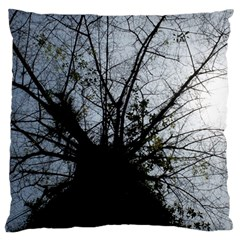 An Old Tree Large Cushion Case (one Side)