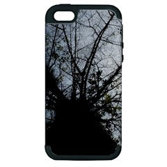 An Old Tree Apple iPhone 5 Hardshell Case (PC+Silicone)