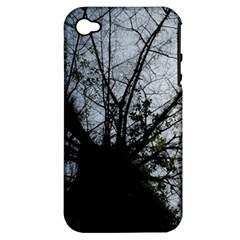 An Old Tree Apple Iphone 4/4s Hardshell Case (pc+silicone)