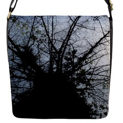 An Old Tree Flap closure messenger bag (Small)