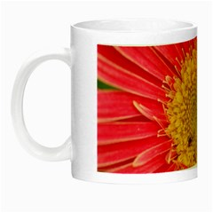 A Red Flower Glow In The Dark Mug