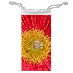 A Red Flower Jewelry Bag