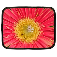 A Red Flower Netbook Case (Large)