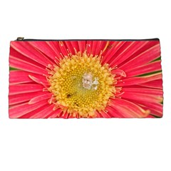 A Red Flower Pencil Case