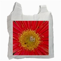 A Red Flower Recycle Bag (One Side)