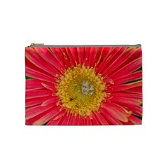A Red Flower Cosmetic Bag (Medium)