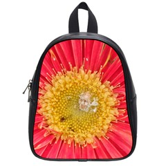 A Red Flower School Bag (small)