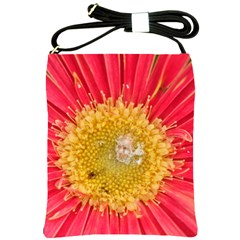 A Red Flower Shoulder Sling Bag