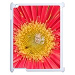 A Red Flower Apple iPad 2 Case (White) Front