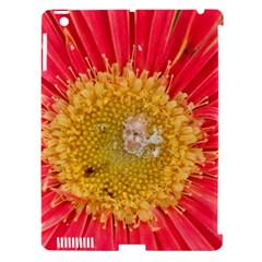 A Red Flower Apple iPad 3/4 Hardshell Case (Compatible with Smart Cover)