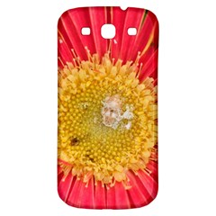 A Red Flower Samsung Galaxy S3 S III Classic Hardshell Back Case