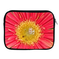 A Red Flower Apple Ipad 2/3/4 Zipper Case