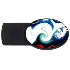 L70 4GB USB Flash Drive (Oval)