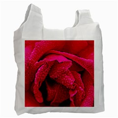 Macro photo of rose Recycle Bag (One Side)