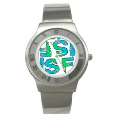 ISF & RYOT Design Stainless Steel Watch (Unisex)