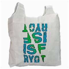 Isf & Ryot Design Recycle Bag (two Sides)