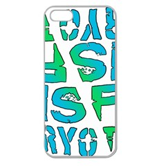 ISF & RYOT Design Apple Seamless iPhone 5 Case (Clear)