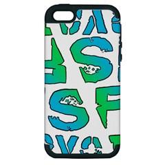 ISF & RYOT Design Apple iPhone 5 Hardshell Case (PC+Silicone)