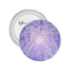 Purple Cubic Typography 2.25  Button