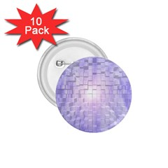 Purple Cubic Typography 1.75  Button (10 pack)