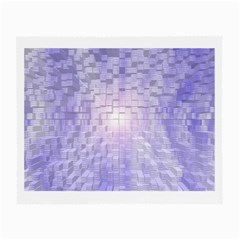 Purple Cubic Typography Glasses Cloth (small)
