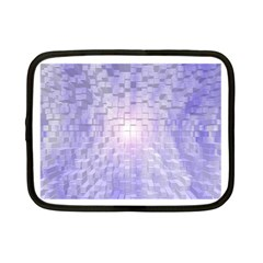 Purple Cubic Typography Netbook Case (Small)