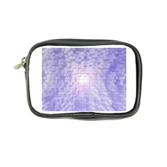 Purple Cubic Typography Coin Purse