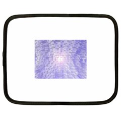 Purple Cubic Typography Netbook Case (XL)