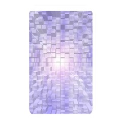 Purple Cubic Typography Memory Card Reader (Rectangular)